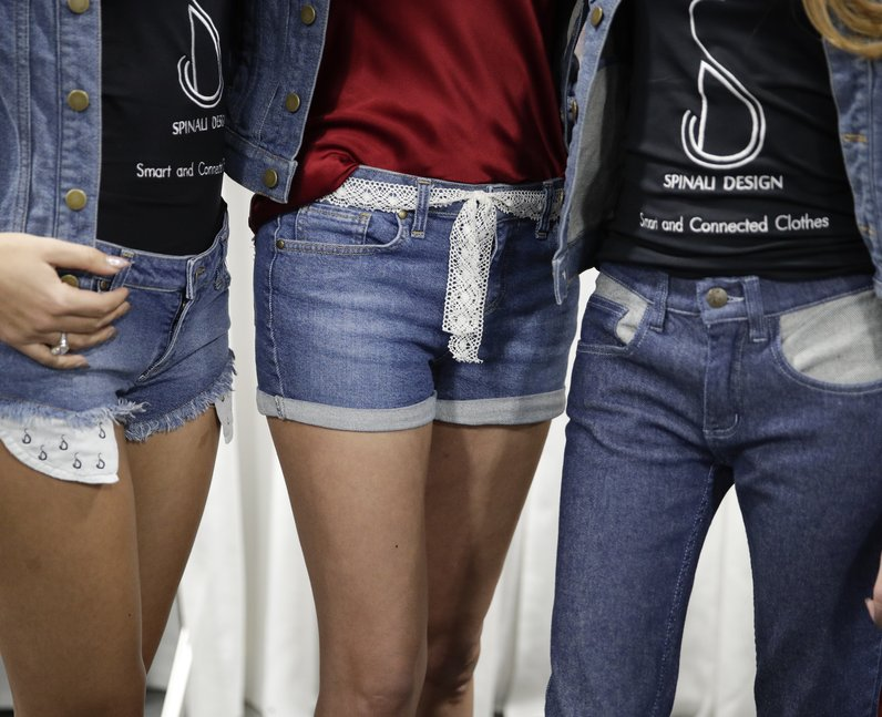 Vibrating Jeans That Give You Directions